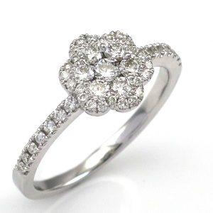 תכשיטי בר דור טבעת בצורת פרח