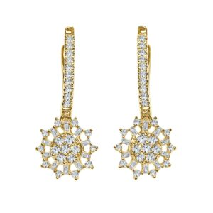 עגילי יהלומים תכשיטי בר דור הרצליה