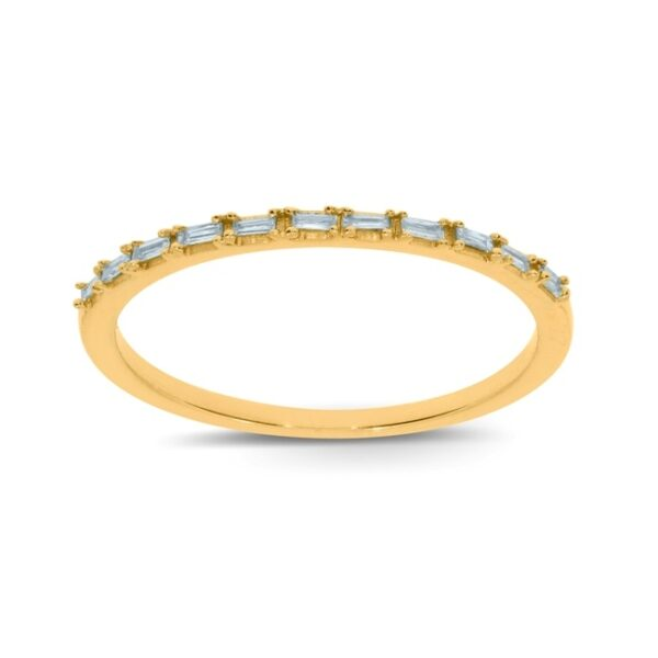 טבעת שורה יהלומים תכשיטי בר דור