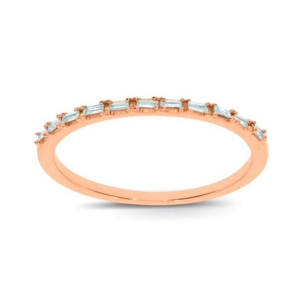 טבעת שורה יהלומים