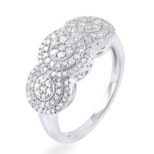 תכשיטי בר דור הרצליה טבעת יהלומים