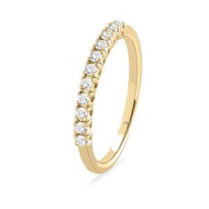 תכשיטי בר דור - טבעת שורה יהלומים