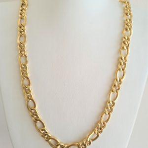 שרשרת חוליות זהב 14 קראט כבדה