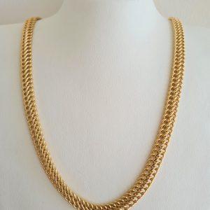 שרשרת זהב צהוב 14 קראט כ