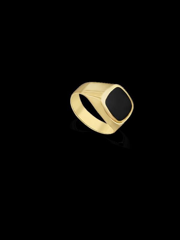 טבעת זהב 14 קראט ואוניקס