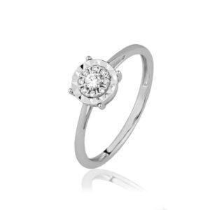 טבעת יהלומים טליה