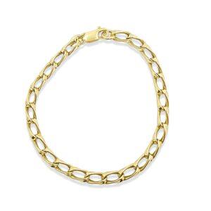 צמיד חוליות זהב 14 קראט