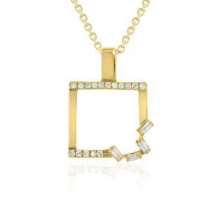 שרשרת יהלומים תכשיטי בר דור