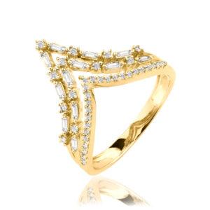 טבעת יהלומים ויקטוריה
