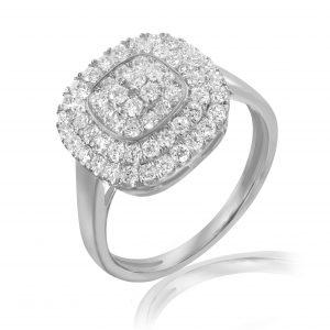 """טבעת יהלומים - """"לורה"""""""