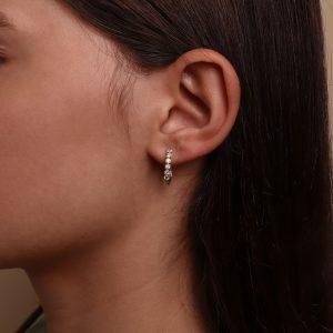 עגילי יהלומים תכשיטי בר דור