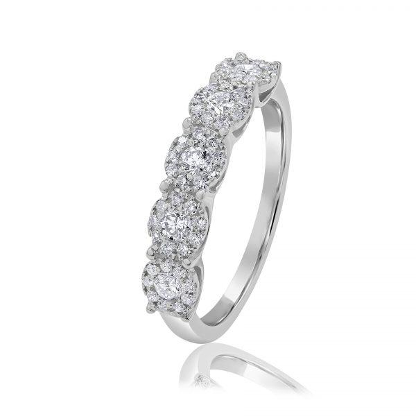 טבעת יהלומים אביב תכשיטי בר דור