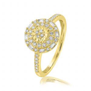 טבעת יהלומים תכשיטי בר דור הרצליה