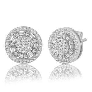 עגילי יהלומים תכשיטי בר-דור