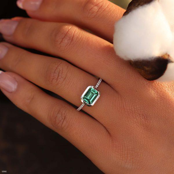 טבעת טופז ירוק - המחשה