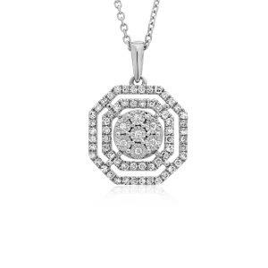 שרשרת יהלומים אוקטגון