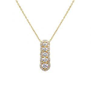 שרשרת יהלומים תכשיטי בר-דור