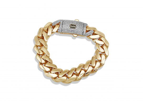 טבעת גורמט עבה זהב צהוב