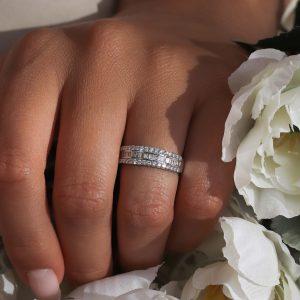 טבעת יהלומים אדריאנה