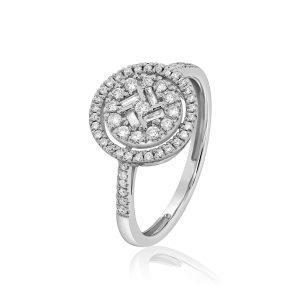 טבעת יהלומים דפנה תכשיטי בר-דור