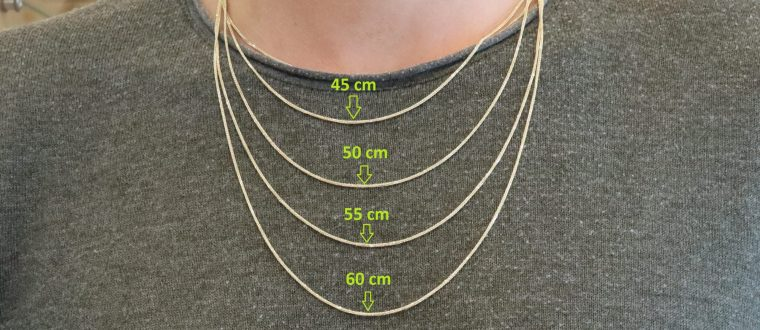 איך למצוא את אורך השרשרת הנכון